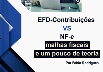 EFD-Contribuições VS NF-e malhas fiscais e um pouco de teoria